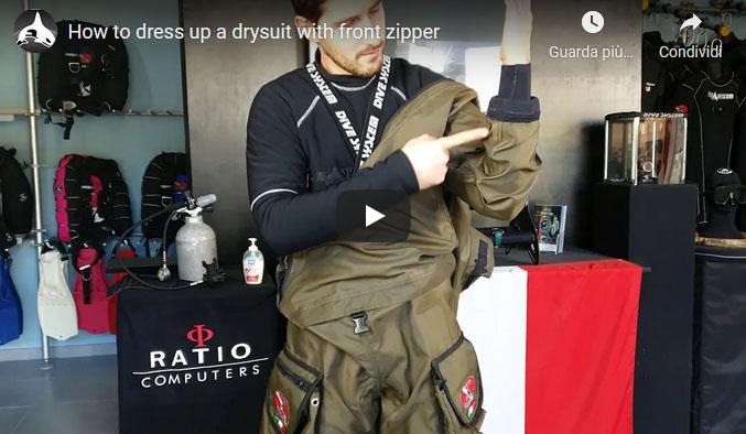 Video - Come indossare la muta