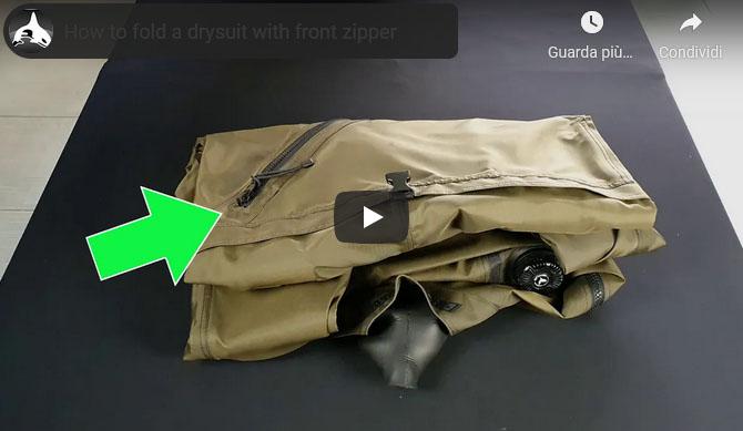 Video - come piegare la muta